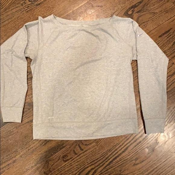 Nike Tops - Nike Grey Pullover